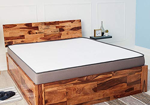 Wakefit Andromeda Sheesham Bed with Storage (King Size Bed), Solid Wood Double Bed
