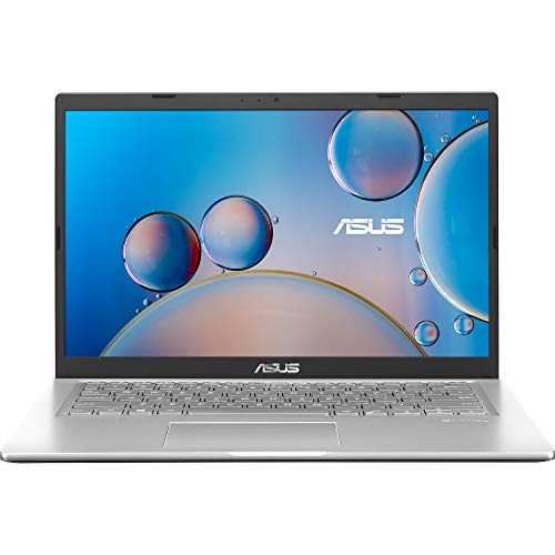 ASUS VivoBook 14 (2020) Intel Core i3-1005G1 10th Gen 14-inch FHD Thin and Light Laptop (4GB/256GB NVMe SSD/Integrated Graphics/Windows 10/MS Office 2019/Silver/1.6 kg), X415JA-EK312TS