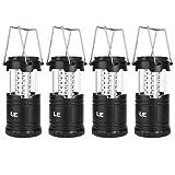 LE Lighting EVER Lampe de Camping LED Portable, Lot de...