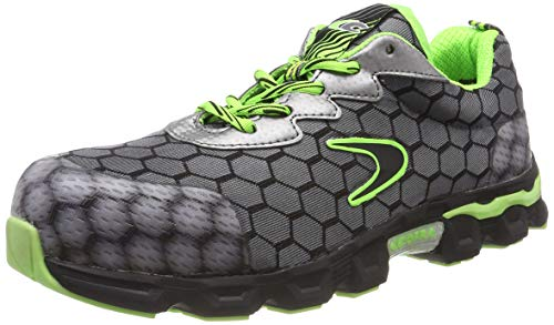 Cofra Scarpe Antinfortunistiche Lowball Grey/Lime S1 P-42