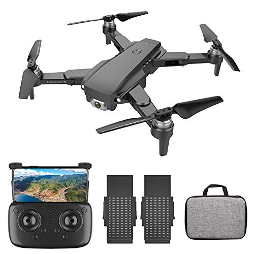 Goolsky SG108 Drone RC con Fotocamera 4K Camera Brushless Drone Doppia Fotocamera 5G WiFi FPV GPS Posizionamento del Flusso Ottico Gesto Foto Video Punto di Interesse Volo Follow Me RC Qudcopter