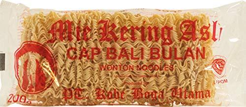 Bali Bulan Wonton Noodles Mie Kering Asli 200 g