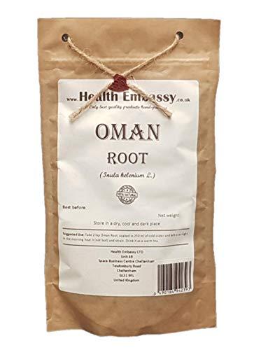 Health Embassy Echter Alant Wurzel (Inula Helenium L) / Oman / Elecampane Root, 100g
