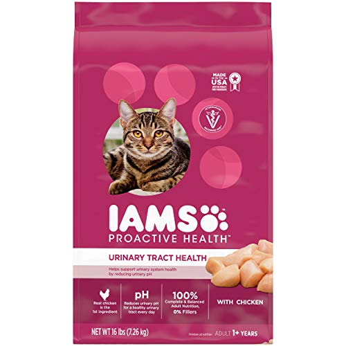 IAMS-PROACTIVE-HEALTH-Adult-Urinary-Tract-Health-Dry-Cat-Food-with-Chicken-Cat-Kibble-16-lb-Bag