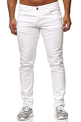 Elara Herren Jeans Slim Fit Hose Denim Stretch Chunkyrayan...