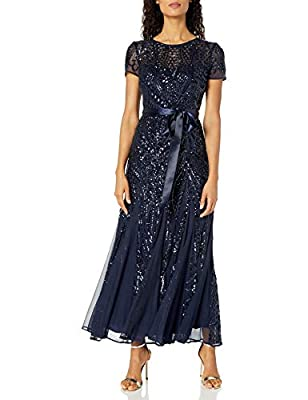 Mother of the bride Mother of the groom formal evening dress special occasion guest of a wedding fully lined party dress all matching three quarter sleeve cocktail laced embellishment guest of a wedding