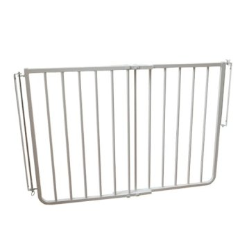 "Cardinal Gates Stairway Angle Baby Gate 27""-41.5"", White"