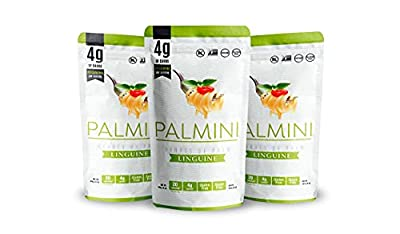 Hearts of Palm Pasta 4g of Carbs 20 Calories Gluten Free