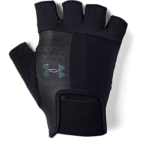 Under Armour Men's Training Glove, Guanti Uomo, Nero (Black/Black/Pitch Gray), M