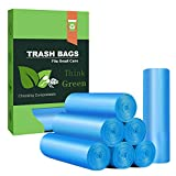Small Trash Bags 4- 6 Gallon Biodegradable Garbage Bags,Unscented Leak Proof Compostable Bags...
