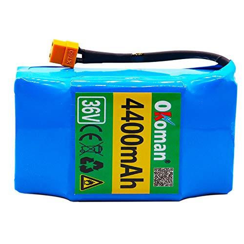 Batteria Hoverboard 36V 4400mah ad Alto consumo energetico Scooter Elettrico a 2 Ruote...