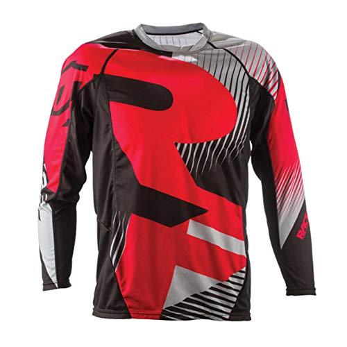 Motorrad-/Motocross-/ Mountainbike-Trikot, Unisex, Langarm