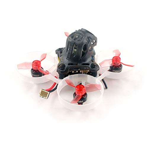 HAPPYMODEL Mobula6 HD 1S 65mm Brushless Quadcopter Whoop Mobula 6 HD FPV Racing Drone BNF with AIO 4IN1 Crazybee F4 Lite Runcam Split3-lite 1080P HD Camera (BNF Frsky RX) (BNF Flysky RX)