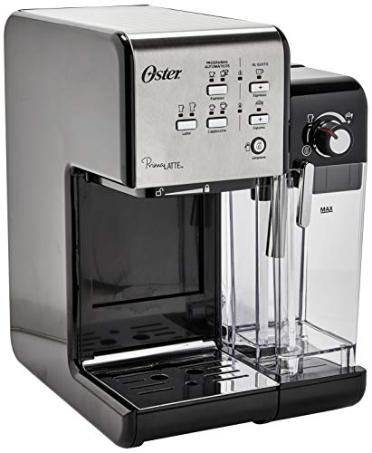 Prima Latte Espresso Coffee Maker, Black, 110v, Oster