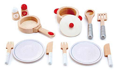 Hape- Set Cucina e Servi, E3150