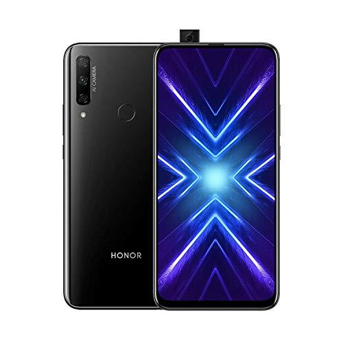 Honor - Móvil - Honor 9X, 6.6 Full HD+, Kirin 710F, 4 GB Ram, 128 GB, 4000 Mah, Dual Sim, Negro