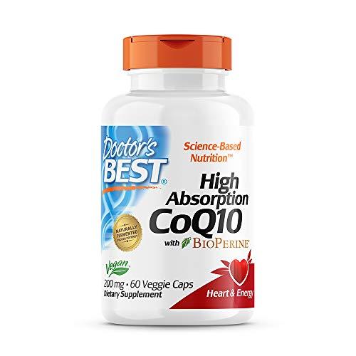 Doctor's Best High Absorption CoQ10 with BioPerine Gluten...