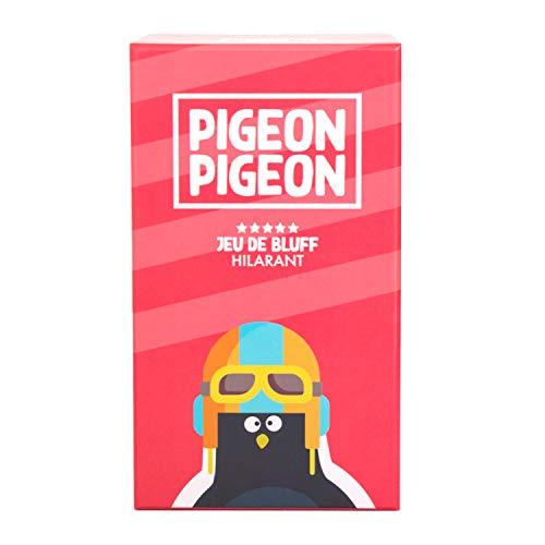 🇫🇷 Jeu de société Pigeon Pigeon - ambiance, bluff, créativité, humour - fabriqué en France