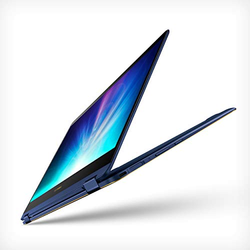 ASUS ZenBook Flip S Touchscreen Convertible Laptop, 13.3in Full HD, 8th Gen Intel Core i7 Processor, 16GB DDR3, 512GB SSD Windows 10 Pro - UX370UA-XH74T-BL, Royal Blue (Renewed)