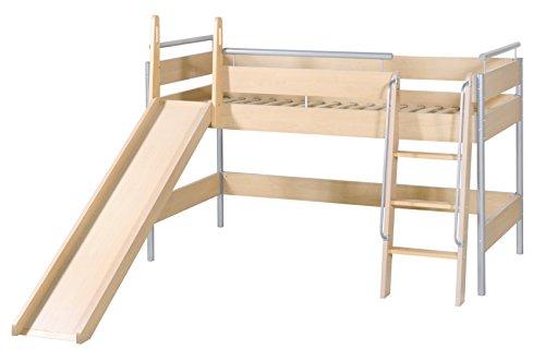 roba  52283 - Spielbett mit Leiter und Rutsche