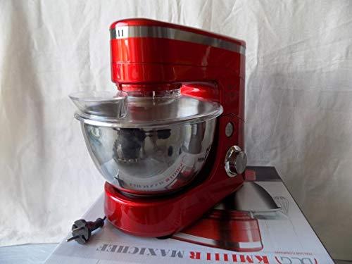DCG Impastatrice Elettrica 1000W, Rosso