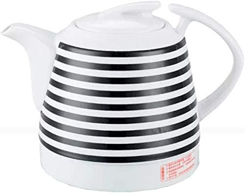 1000W Wasserkocher, 1L Keramik Blaue Und Weiße Porzellan-Kessel-Teekanne, Automatisches Ausschalten, Intelligente Konstante Temperatur, Schnelles Brühtee, Kaffee-Suppe,