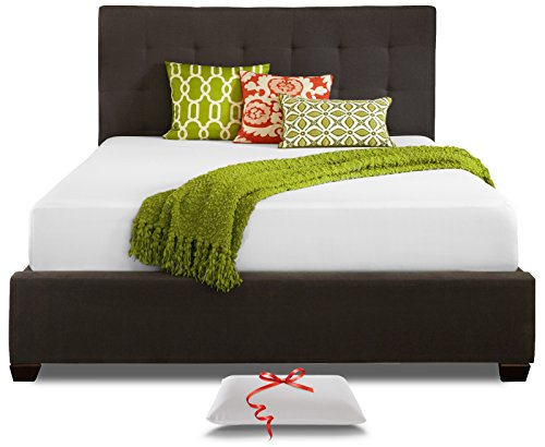 Live and Sleep Queen Size Memory Foam Mattress, 10-Inch Cool Bed...