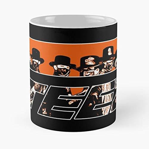 Orange Hala Logo Seonghwa K Black Hongjoong Ateez Pop La Migliore Tazza da caff in Ceramica Bianca da 11 Once