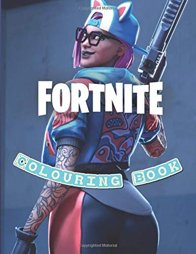 Fortnite Colouring Book: +50 coloring pages for boys and girls whit hight quality images