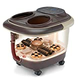 Lifelong Foot Spa and Massager with Automatic Rollers, Digital Panel, Bubble Bath & Water Heating Technology for Pedicure, Pain relief & Foot Care…