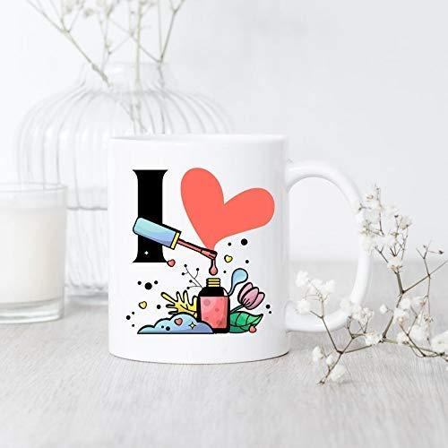 Mug funny I Love Nail Polish Mug Nail Polish Mug Nail Tech Gift Nail Polish Lover Nail Artist Mug Nail Salon Gift Manicurist Mug mug gift ideas, gift for christmas, vintage cup.