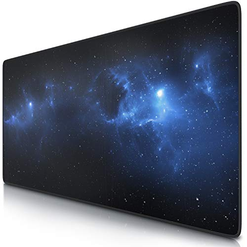 CSL - XXL Mousepad Gaming 900 x 400mm Universe - Tappetino Mouse Gaming Extralarge - Migliora...