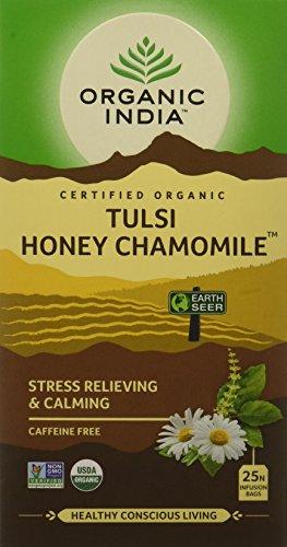 Organic India Tulsi - 25 Tea Bags (Honey Chamomile)