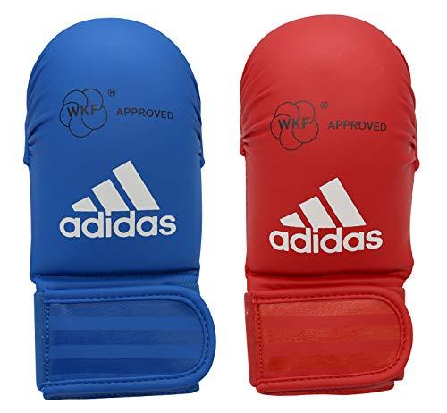 adidas - Guanti da Karate, Taglia L, Colore: Blu