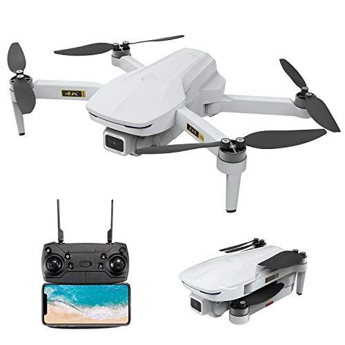 4K Drone, EACHINE EX5 GPS Mini Drone wif 4K UHD Camera for Adults 5G GHz WiFi FPV Floadbale Drones Quadcopter wif Brushless Motor 1000m Control Range, 30 Mins Flight Time, Follow Me