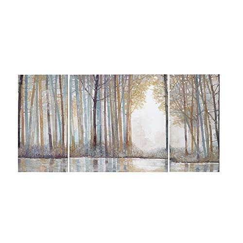 Madison Park Wall Art Living Room Décor - Scenery Triptych Canvas Home Accent Modern Dining Bathroom Decoration,...