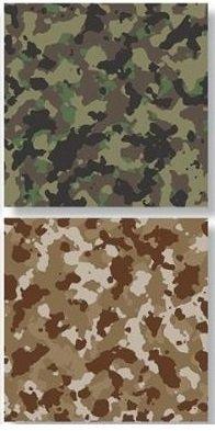 Hunters Camo - Hunters Paradise - Reminisce Scrapbook Paper - 5 Sheets