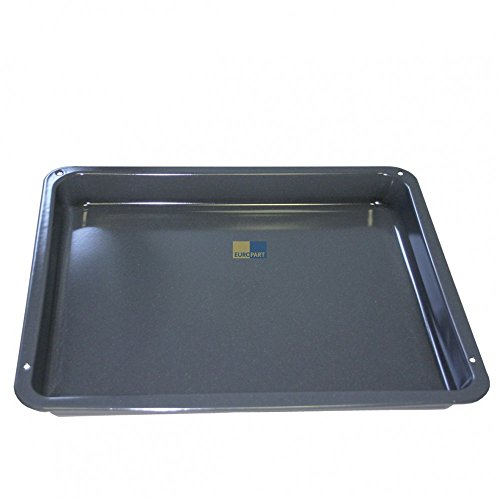 AEG Electrolux 387028820 - Teglia da forno smaltata, 425 x 360 x 43 mm, adatta anche a forni IKEA e...