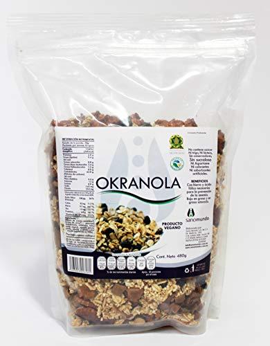 Granola Vegana Okranola 480g