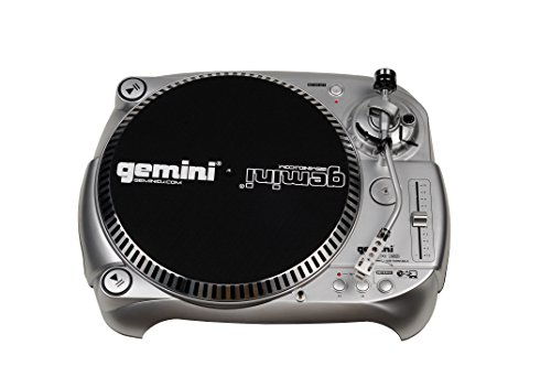 Gemini TT-1100USB Professional Audio Manual Belt-Drive Classic USB Connectivity DJ Turntable with Adjustable Counter Weight and Anti-Skating Controls