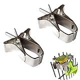 Oiseaux Porte-Nourriture pour Animaux Perroquet Pinces pour Cage...