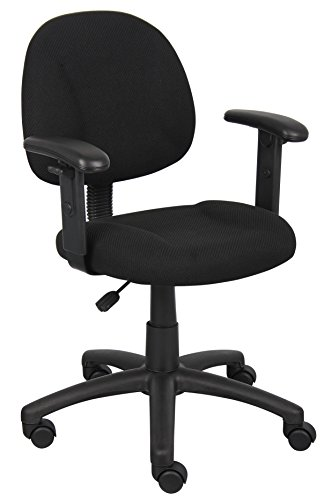 Boss Office Products Perfect Posture Delux Fabric...