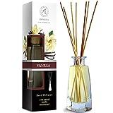 Diffuseur Parfum de Vanille 100ml - Naturel Fragrance Fraîche et Durable - Kit...