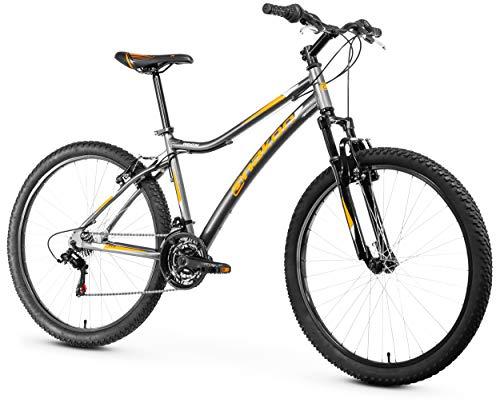 Anakon Premium Bicicleta de montaña, Adulto Unisex, Gris, S