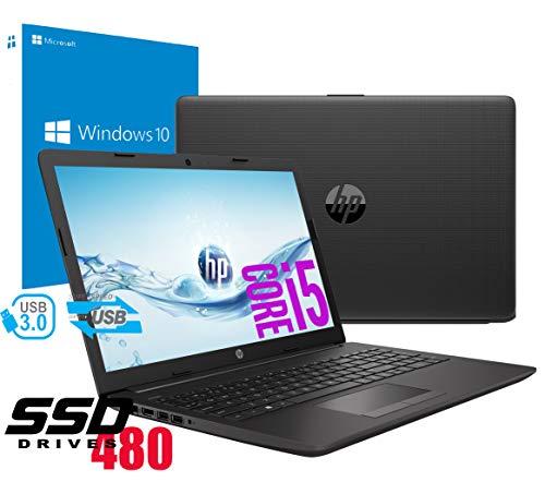 Notebook HP i5 250 G7 Portatile Display da 15.6' Cpu Intel Quad core i5-8265U da 1,6Ghz a 3,9Ghz...