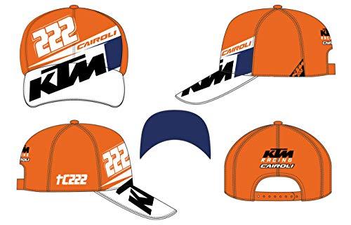 Vr46 Cairoli-KTM, cap Uomo, Arancione, Taglia Unica