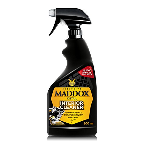 Maddox Detail -Limpiador de Interior - Limpia Tapicerias Coche Profesional (500 ml)
