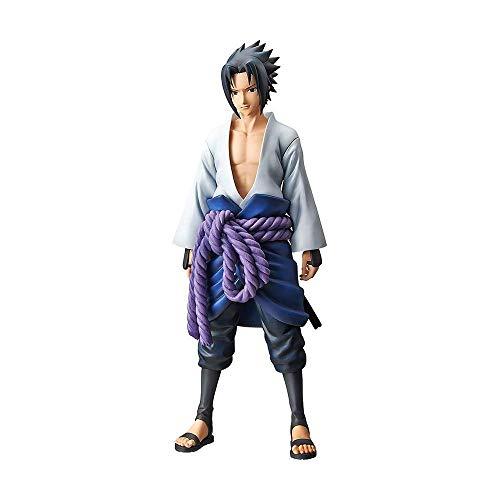 Action figure naruto - uchiha sasuke - grandista bandai banpresto multicor
