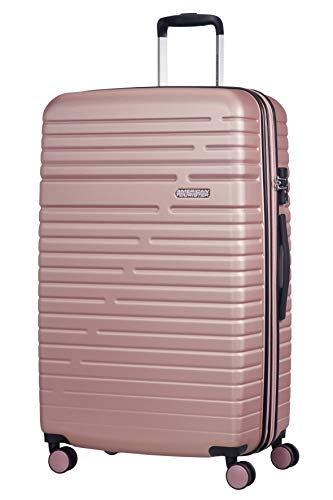 American Tourister Aero Racer Spinner 79 Expandable - 4.5 Kg Bagaglio a Mano 115 Liters, Rosa (Rose...