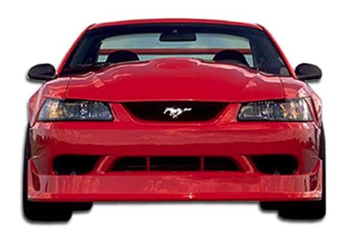 Brightt Duraflex ED-OZE-771 Cobra R Front Bumper Cover - 1 Piece Body Kit - Compatible With Mustang 1999-2004